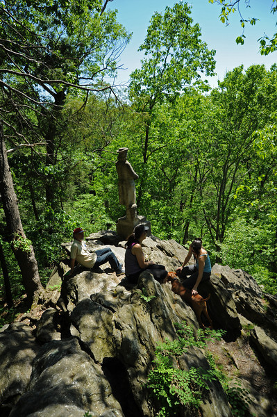 The Tolerance Statue<br /> Wissahickon<br /> Philadelphia<br /> 7 May 2010
