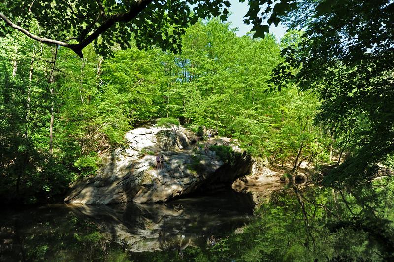 Wissahickon Creek<br /> Philadelphia<br /> 7 May 2010
