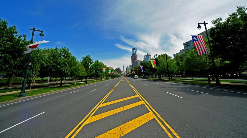 Ben Franklin Parkway<br /> Philadelphia<br /> 7 May 2010