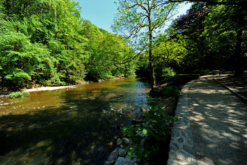 Wissahickon Creek<br /> Philadelphia<br /> 7 May 2010