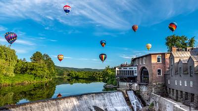 Balloons Over Quechee VT