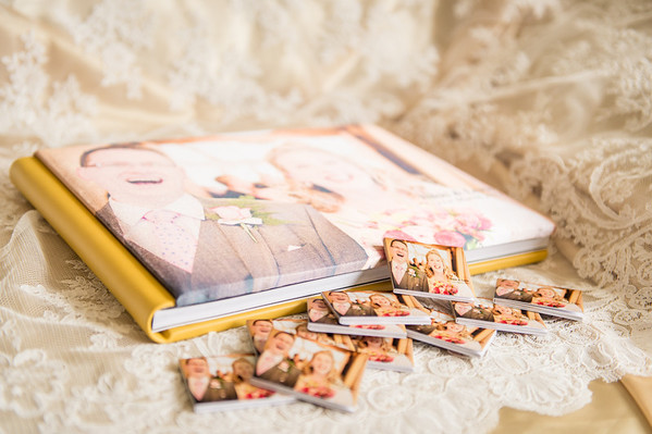 The Mini Wedding Album Copies