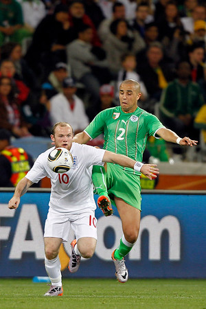 2010 FIFA World Cup, Group C: England v Algeria