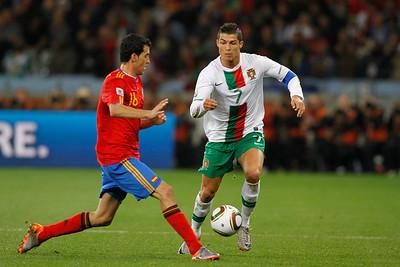 Round 16: Spain v Portugal