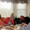 Joan Maring, Sue Santori, Gary Maring, Sandy Santori playing Mexican train, Easter 4-20-14