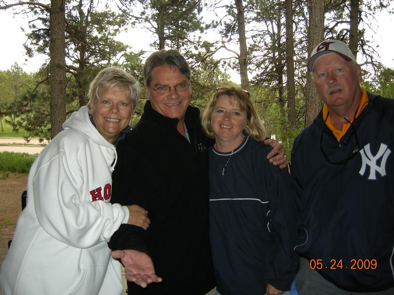 Aunt Sue, Uncle Sandy, Aunt Pam, Uncle Joe