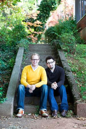 Edward + Gary