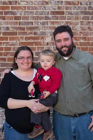 Josh and Maryse Family