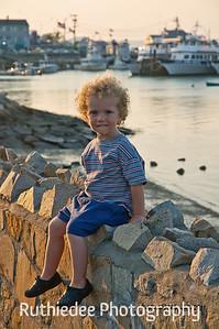 Little boy in Plymouth...