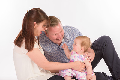 The Barnes Family Studio Shoot