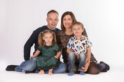 The Buck Family Studio Shoot