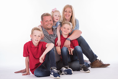 The Curran Family Studio Shoot