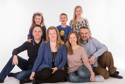 The Webb/Arnold Family Studio Shoot