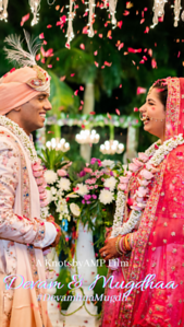 Mugdhaa Devam Wedding IGTV