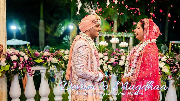 Mugdhaa Devam Wedding