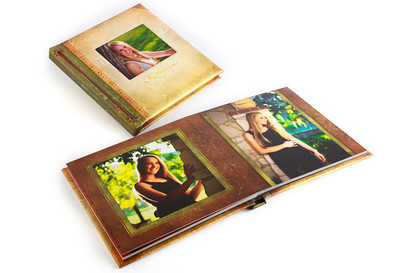 Press Printed Albums are flush mount albums with thick lay-flat pages and no middle gutter. Printed on our Indigo Digital Printing Presses, our Press Printed Albums offer more unique and affordable options compared to other flush mount and photographic albums. With our industry leading turnaround time and free two-day shipping, you can order an album Monday morning and have it in your hands on Friday!  Unique to Press Printed Albums, the inside pages are printed on either Art Watercolor, Art Linen, Art Recycled, Satin Lustre, Satin Lustre with Pebble Texture, Satin UV, or Pearl UV press paper and adhered to heavy black cardstock. This allows each spread to lay flat with a thick look and feel. Pages are printed as full spreads and not cut so imagery and design elements are not lost in the center of the book! Press Printed Albums are available in fixed lengths of 10, 15, 20, 25, or 30 spreads and are available in 5x7, 7x5, 6x6, 6x12, 12x6, 7x10, 10x7, 8x8, 8x12, 12x8, 10x10 and 12x12 sizes.