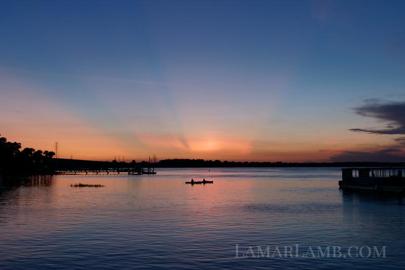 Sunset from Hilton Head Island