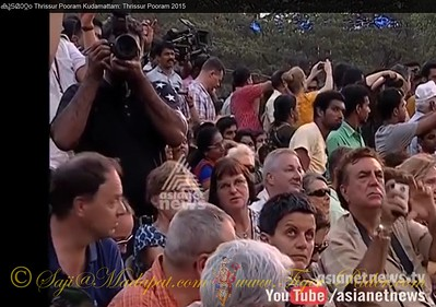 Saji at Devine Durbar - Thanks to AsiaNet