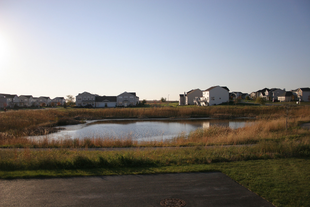 View from the house <br /> <br /> Overlooks a large pond