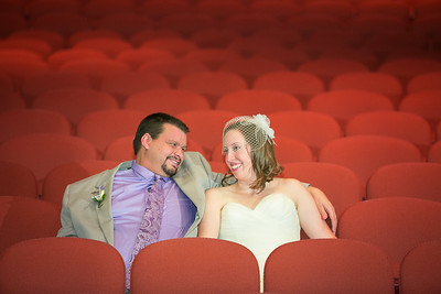 Rebecca & Ben's wedding day at the Lyric Theater, Lexington, KY 7.10.15.