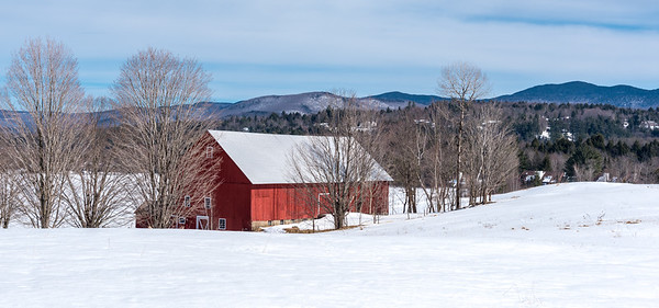 Red Vermont Barn