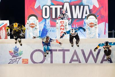 Red Bull Crashed Ice Ottawa 2017: MAR 04
