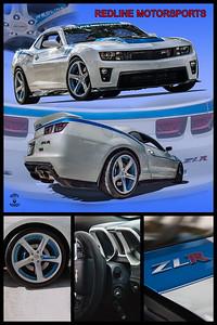 White Camaro ZLR