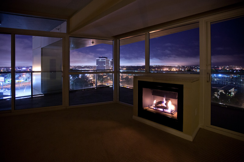 Real Estate MLS Shot, Regatta Condos Night Interior