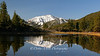 Slide Mountain reflected in Dry Pond