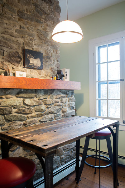 kitchen table or work surface