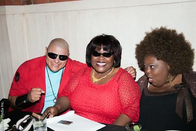 "Mariano "" Big Dog"", Ellia English & Yvette ""The Funny Lady"