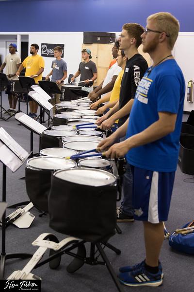 Indoor Drumline - 9-27-15