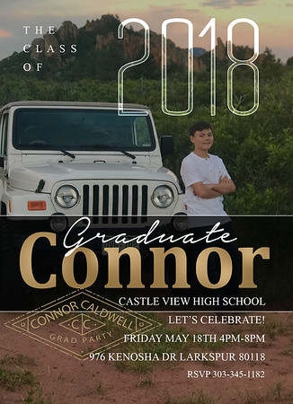 connor caldwell grad announcement
