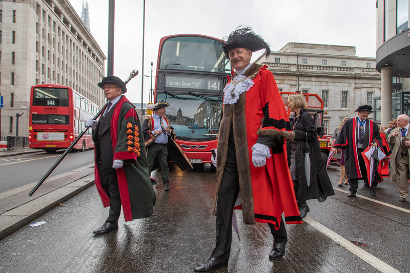 Lord Mayor on London Bridge