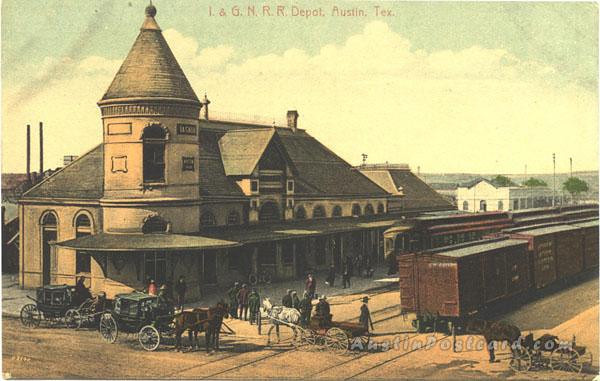 International and Great Northern Railroad Depot