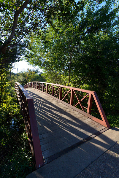 Pease Park Pedestrian Bridge