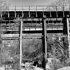 Railroad trestle over Shoal Creek