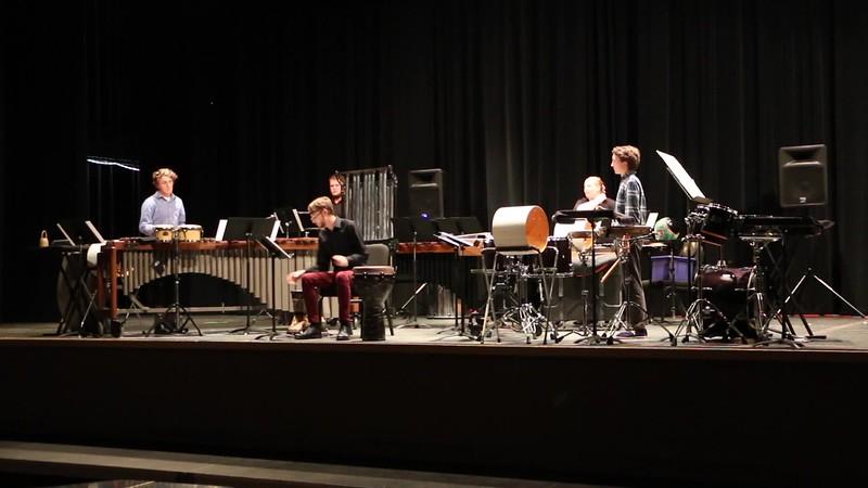 Spencer Taunton - Senior Recital / Concerto for Darabukka and Percussion Quartet - November 6, 2017