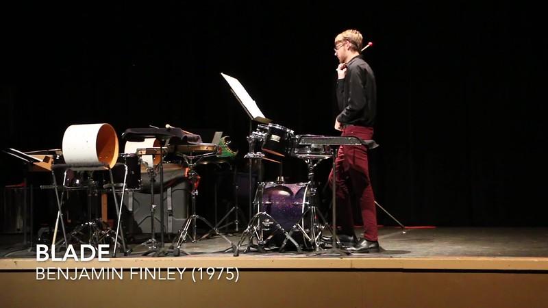 Spencer Taunton - Senior Recital / Blade - November 6, 2017
