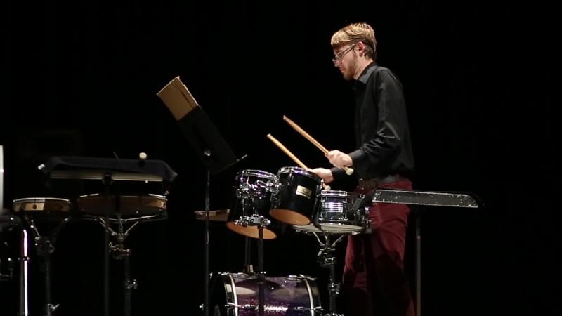 Spencer Taunton - Sr Recital / Short Clip 1 - November 6, 2017