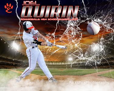 16x20 Smashing Through Baseball_2