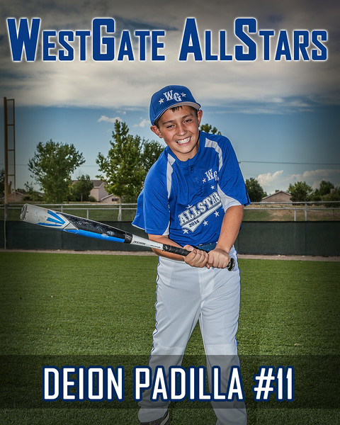 #11 Deion Padilla