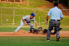 Phillip Cotten beats the tag at third.