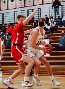 Lakeville South vs Lakeville North Basketball -32