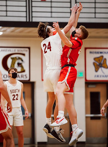 Lakeville South vs Lakeville North Basketball -30
