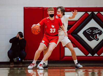 Lakeville South vs Lakeville North Basketball -34