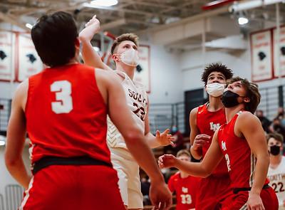 Lakeville South vs Lakeville North Basketball -40