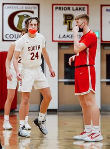 Lakeville South vs Lakeville North Basketball -28