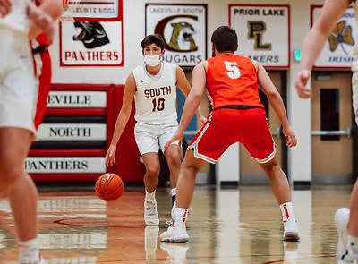Lakeville South vs Lakeville North Basketball -37