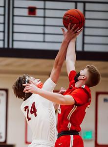 Lakeville South vs Lakeville North Basketball -29